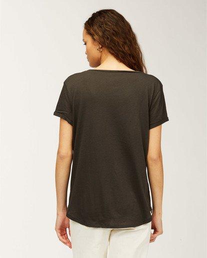 2 Florida Faraway Seas T-Shirt Black J448HFAR Billabong