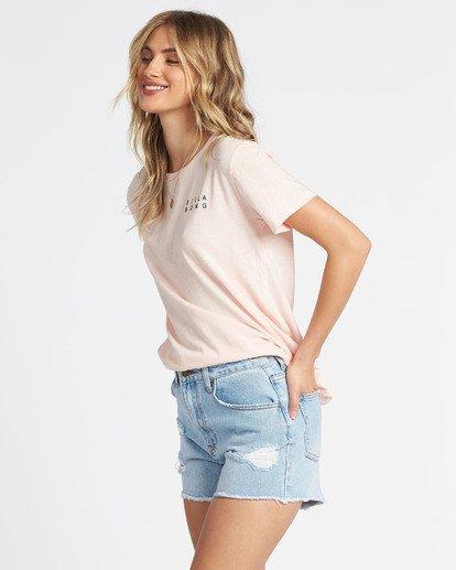 1 Flower T-Shirt Brown J4671FEC Billabong