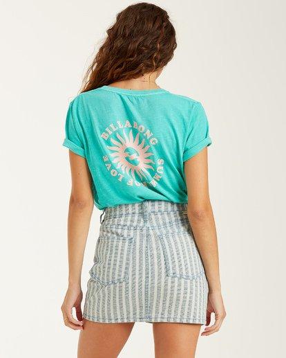 2 Summer Of Love T-Shirt Blue J4672BSU Billabong