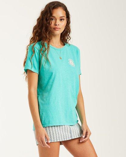 1 Summer Of Love T-Shirt Blue J4672BSU Billabong