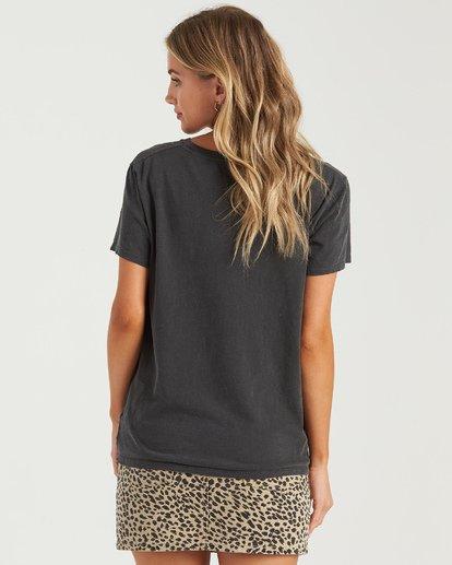 2 Another Day T-Shirt Black J4673BAN Billabong