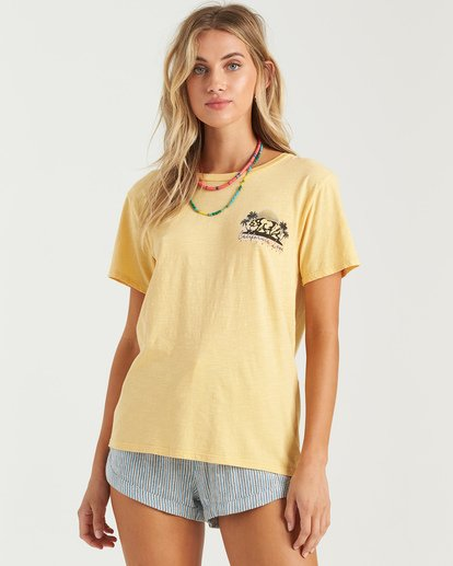 0 Love Cali Bear T-Shirt Grey J4673BLO Billabong
