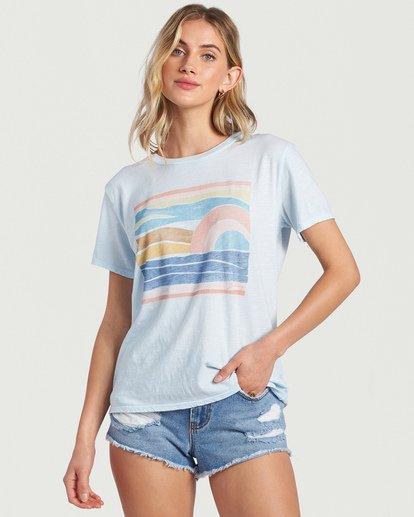 0 Seaside View T-Shirt Multicolor J4673BSE Billabong