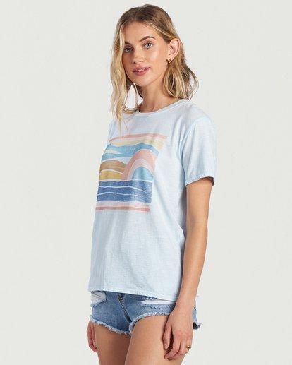 1 Seaside View T-Shirt Multicolor J4673BSE Billabong