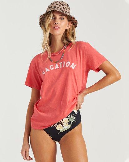 0 Vacation Vibrations T-Shirt Multicolor J4673BVA Billabong