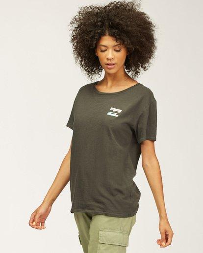 1 Sideline Seas T-Shirt Black J4673DND Billabong