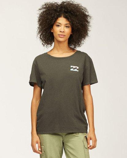 2 Sideline Seas T-Shirt Black J4673DND Billabong