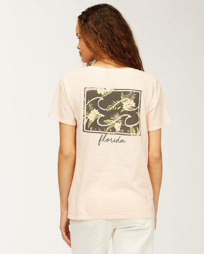 0 Florida Flower T-Shirt Multicolor J4673FFL Billabong