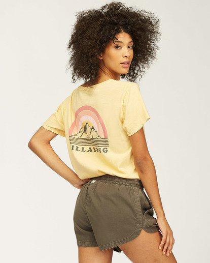 0 Love Of Roots T-Shirt Grey J4673LND Billabong