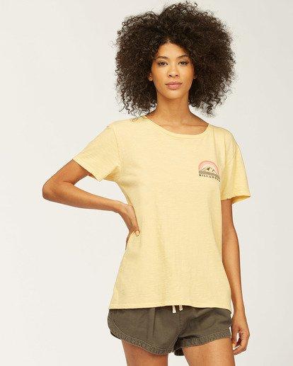2 Love Of Roots T-Shirt Grey J4673LND Billabong