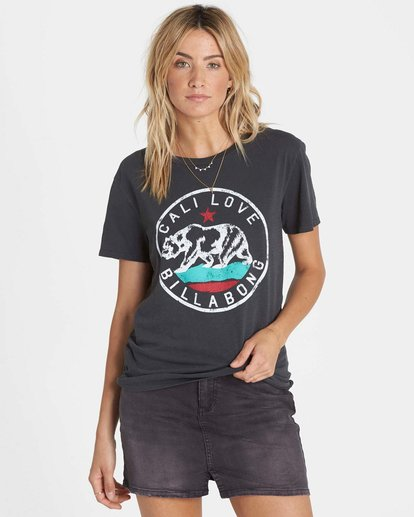 0 Cali Bear Love T-Shirt  J467NBCA Billabong