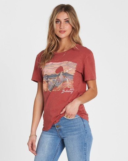 1 Be A Tourist T-Shirt  J467SBBE Billabong