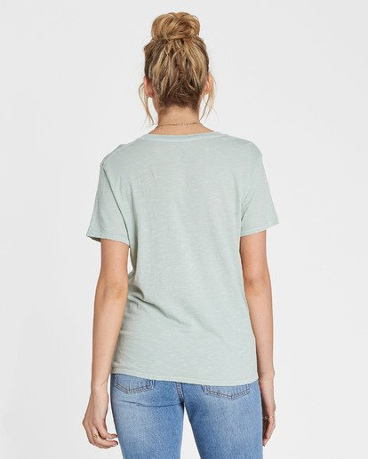 2 Let The Sun Shine In Tee Blue J467SBLE Billabong