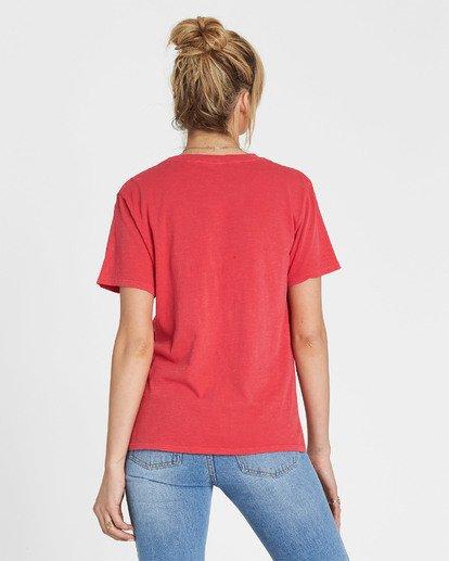 2 Red Rose Dream T-Shirt  J467SBRE Billabong