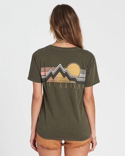 2 Vintage Scenic T-Shirt  J467SBVI Billabong