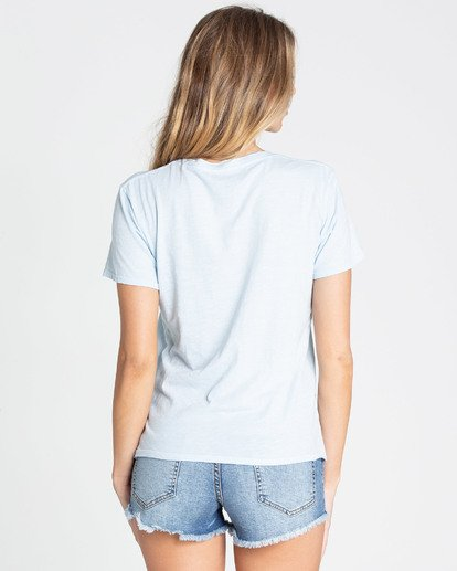 2 Good Vibes Tee Blue J467TBGO Billabong