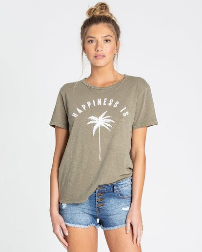 1 Happiness Is T-Shirt  J467TBHA Billabong
