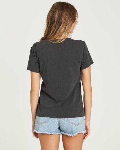 2 Sunshine Palms T-Shirt Black J467UBSU Billabong
