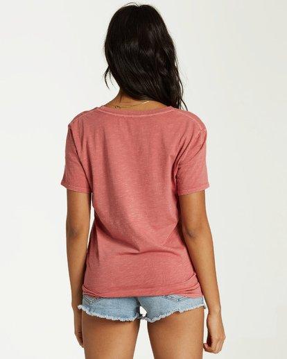 2 Lets Get Lost T-Shirt Pink J467VBLE Billabong