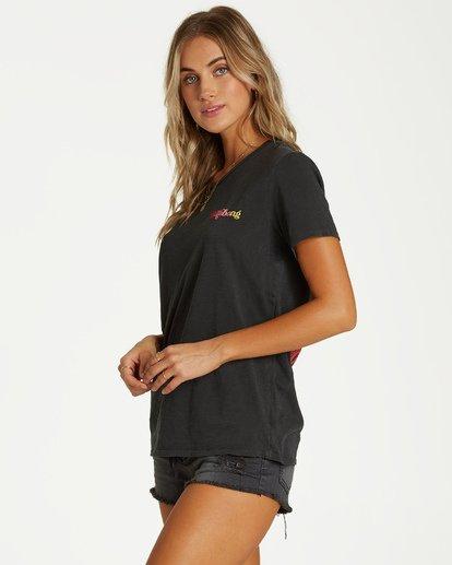 1 Shes A Rainbow T-Shirt Black J467VBSH Billabong