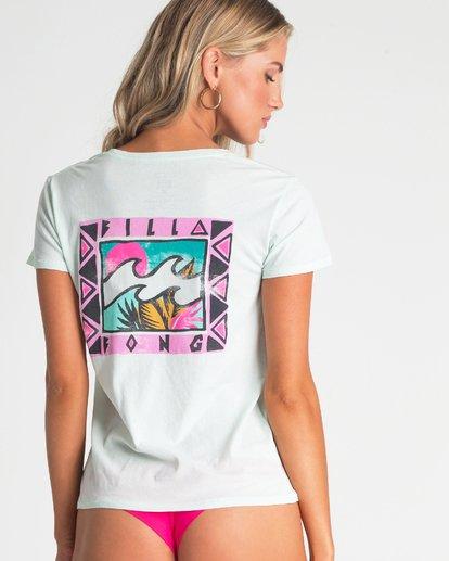 2 Billabong Wildlife T-Shirt Blue J477UBBI Billabong