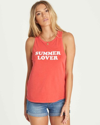 0 Summer Lover Tank  J479PBSU Billabong