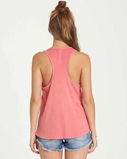 2 Sunday Sunshine Tank Pink J479QBSU Billabong