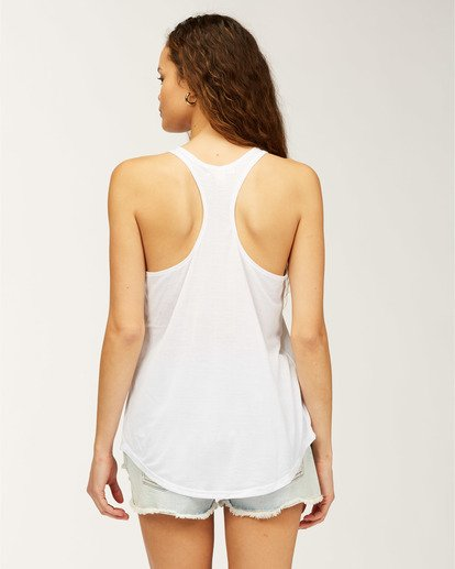 2 Florida Take Me There Tank Top White J4831BTR Billabong