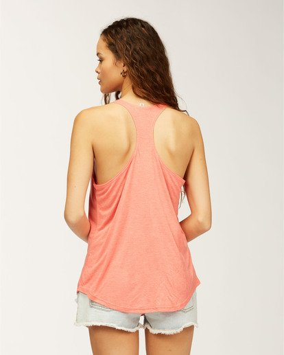 2 Florida Palm Tank Top Red J483MFFR Billabong
