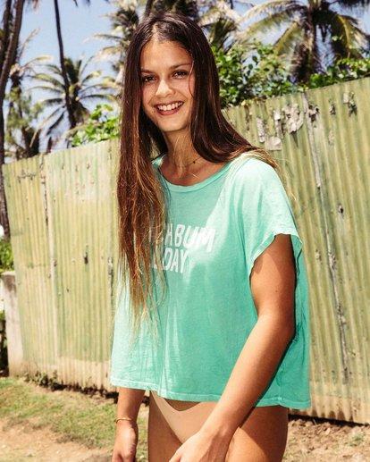 0 Beach Bum Crop T-Shirt  J495PBBE Billabong