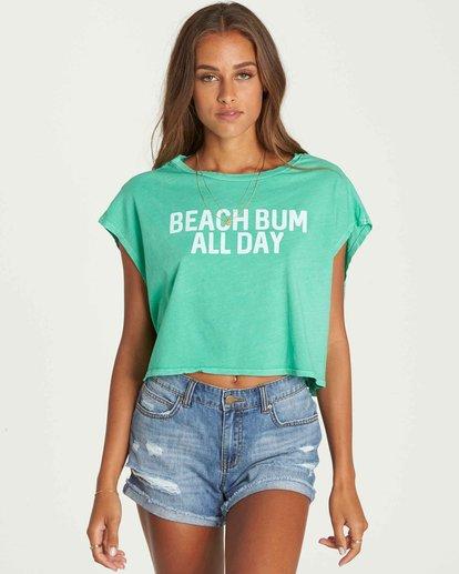 1 Beach Bum Crop T-Shirt  J495PBBE Billabong