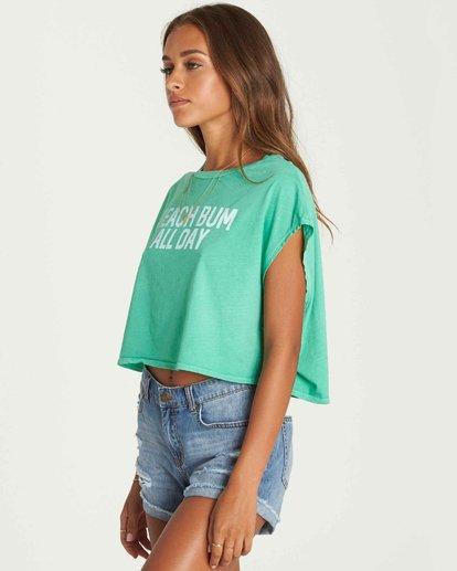 2 Beach Bum Crop T-Shirt  J495PBBE Billabong
