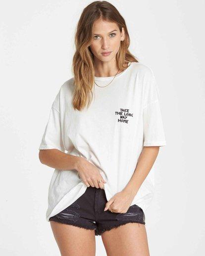 1 Long Way Home Boyfriend T-Shirt  J499QBLO Billabong