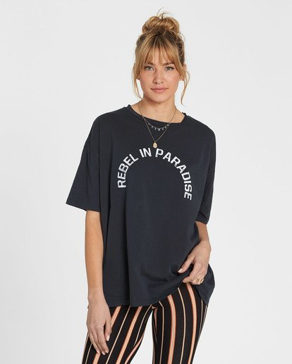 0 Rebel In Paradise Tee  J499SBRE Billabong