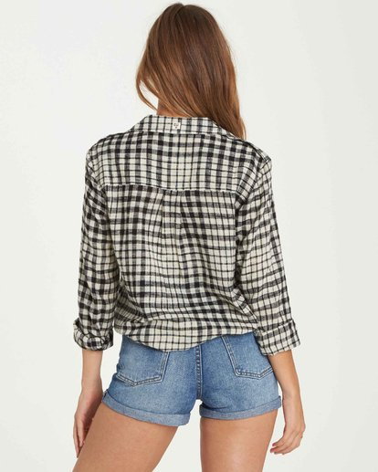 3 Venture Out Plaid Top  J501QBVE Billabong