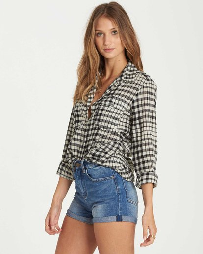 2 Venture Out Plaid Top  J501QBVE Billabong