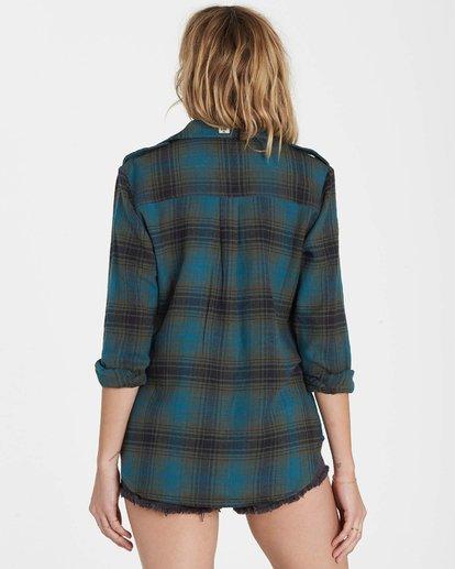 2 Venture Out Long Sleeve Flannel Shirt  J507MVEN Billabong