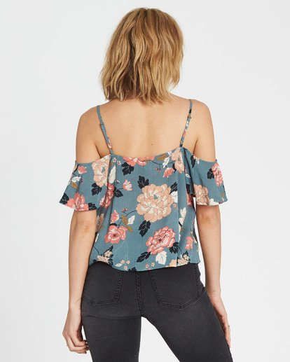 2 For You Floral Print Top  J507SBFO Billabong
