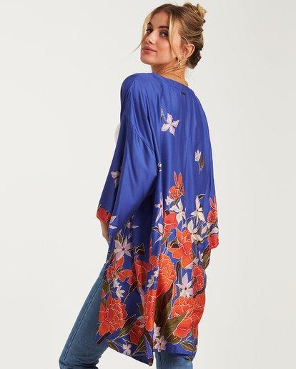 3 Paradise Nights Kimono Blue J507WBPS Billabong