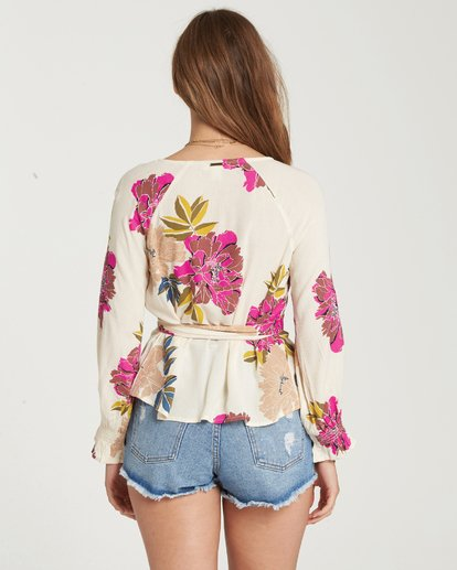 2 Daisy Wrap Top  J513QBDA Billabong