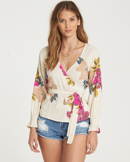 0 Daisy Wrap Top  J513QBDA Billabong