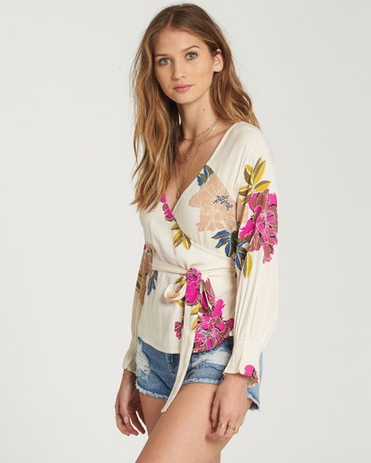 1 Daisy Wrap Top  J513QBDA Billabong