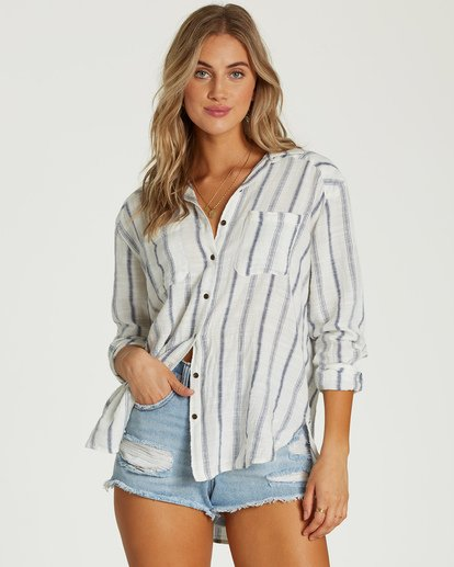 0 Easy Movin Top White J516VBEA Billabong