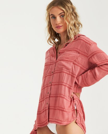 1 Easy Movin Top Pink J516VBEA Billabong