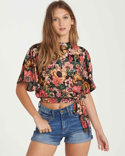 0 Desert Blossoms Top  J517QBDE Billabong
