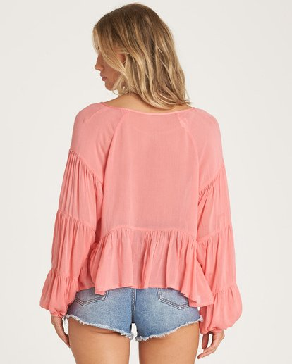 2 By The Sea Top Orange J519WBBY Billabong