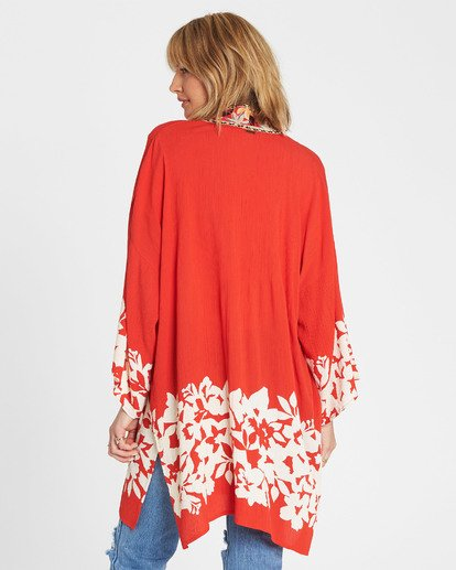 4 Fire Nights Kimono Top  J521SBFI Billabong