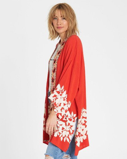 2 Fire Nights Kimono Top  J521SBFI Billabong