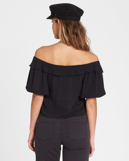 2 Babes For Days Woven Off-The-Shoulder Top  J525SBBA Billabong