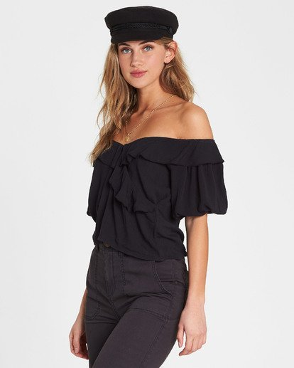 1 Babes For Days Woven Off-The-Shoulder Top  J525SBBA Billabong